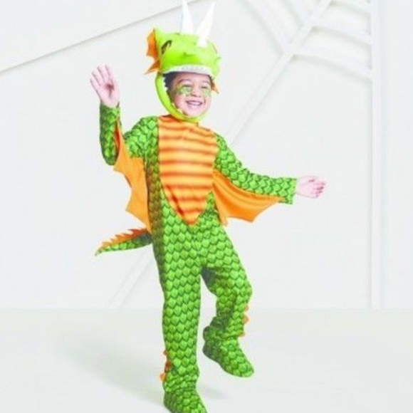 M_5b72febd4ab633bb441b9131  sc 1 st  Poshmark & Hide u0026 Eek! Costumes | Toddler Boys Dragon Halloween Costume Size ...
